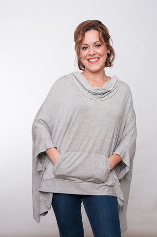 Tailgater Tunic - Grey