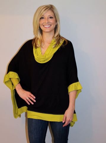 Tailgater Tunic - Black & Gold