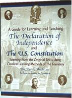 Guide for learning and teaching the Declaration of Independence and US Constitution