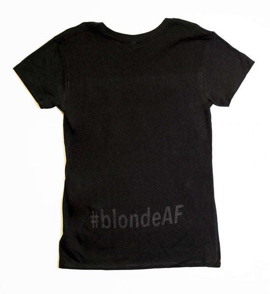 #blondeAF - T-Shirt