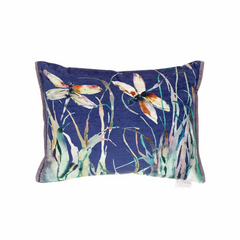 Dragonfly Velvet Voyage Maison Cushion