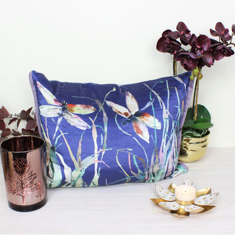 Velvet Dragonfly Voyage Masion Cushion
