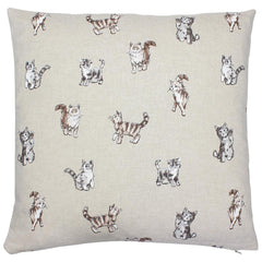 Cat Print Cushion