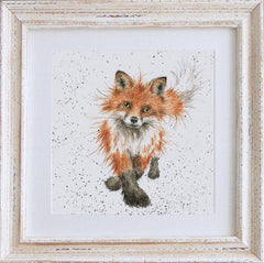 Wrendale Fox Picture The Foxtrot Framed Card