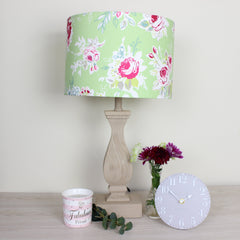 Rose Garden Apple Floral Lampshade