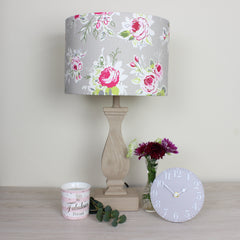 Rose Garden Pebble Floral Lampshade