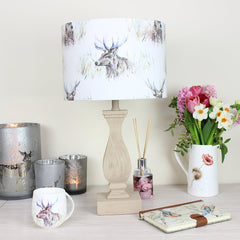Wallace Stag Voyage Lampshade