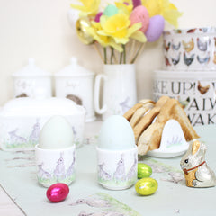 Rabbit Hare Egg Cups