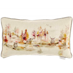 Caledonian Forest Highland Cow Voyage Maison Cushion