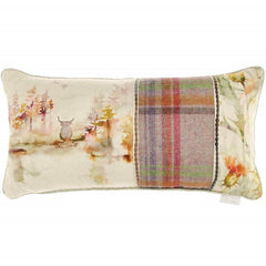Caledonian Forest Highand Cow Patchwork Voyage Maison Cushion