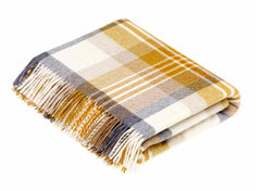 Bronte by Moon Melbourne Throw in Gold