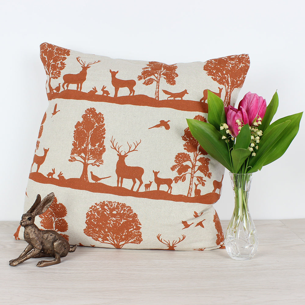 Rust Voyage Cairngorms Cushion