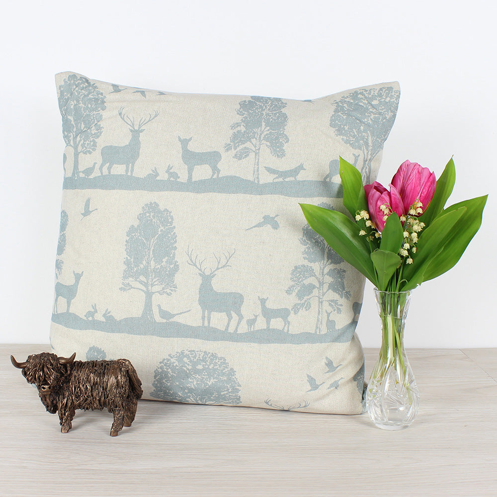 Loch Voyage Cairngorms Cushion
