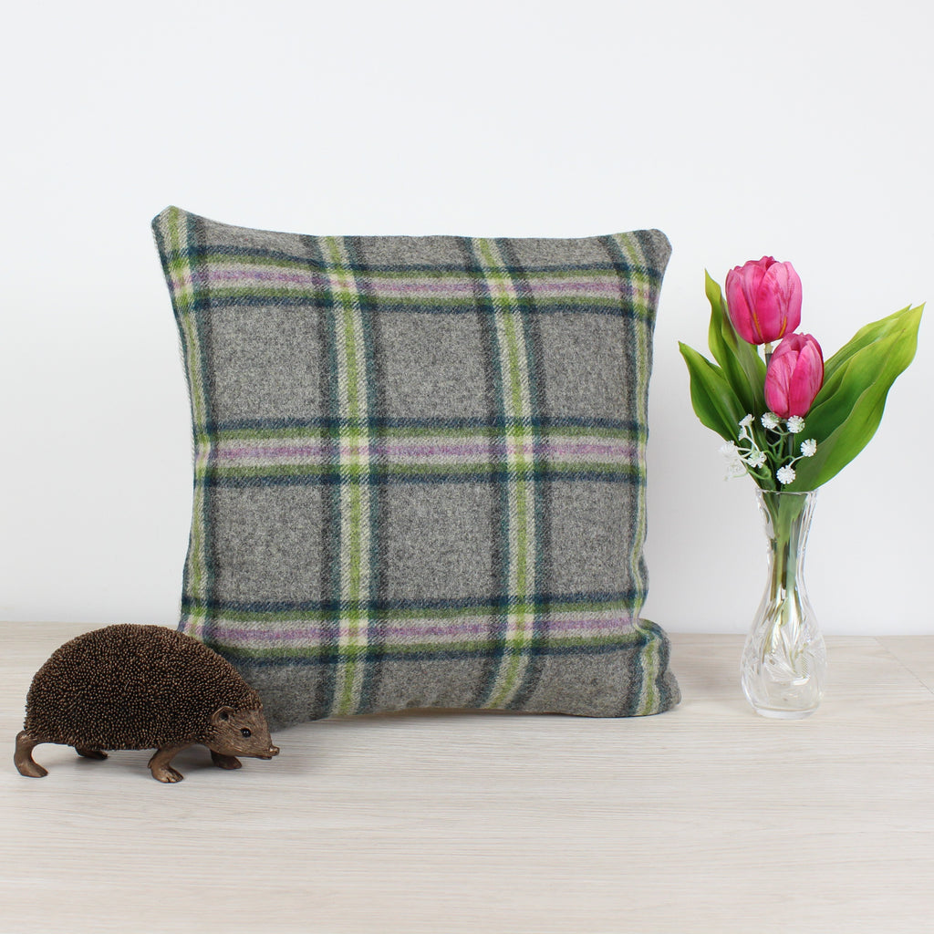 Settle Fawn Tweed Wool Cushion