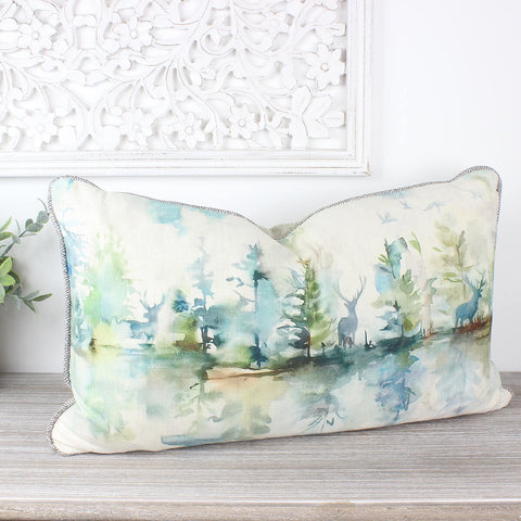 Wilderness Topaz Stag Voyage Maison Cushion