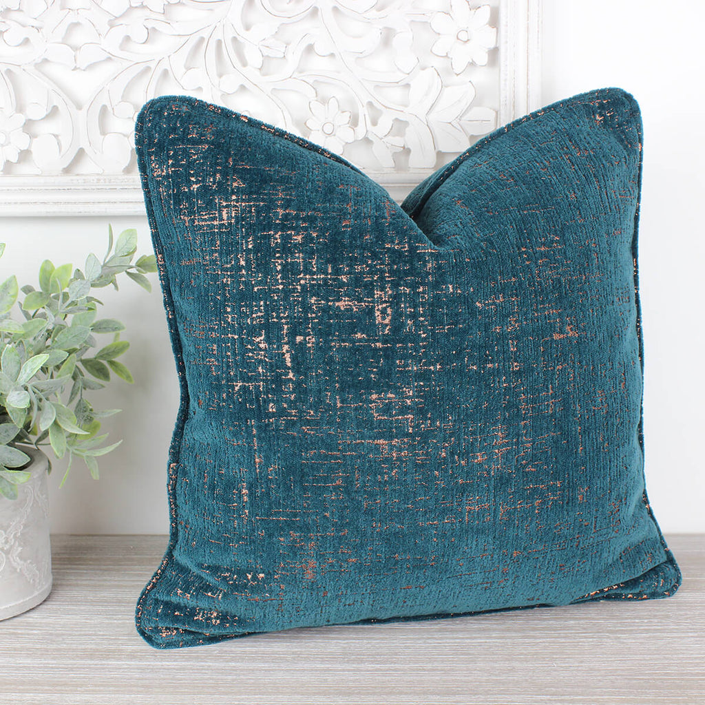Zonda Teal Cushion