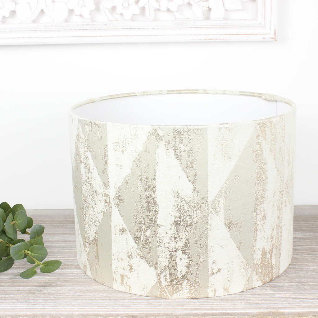 Natural Mystique Drum Lampshade