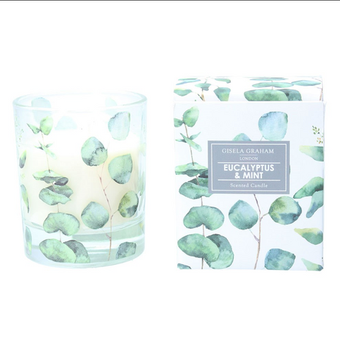 Eucalyptus Scented Boxed Candle