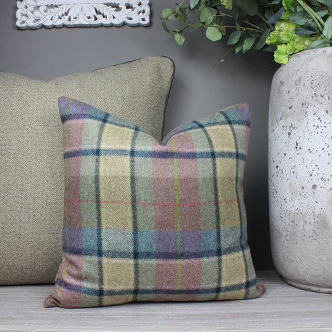 Gargrave Heather Tweed Wool Cushion
