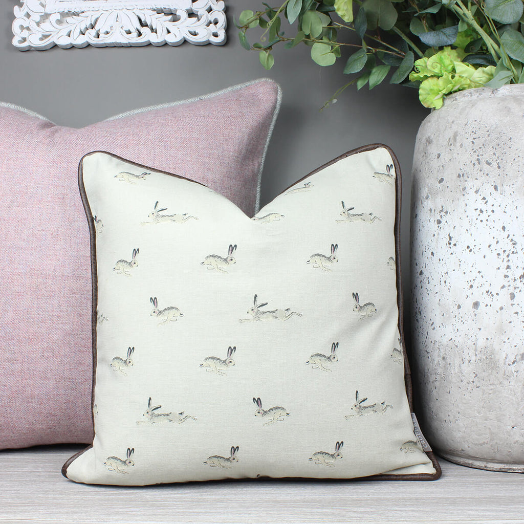 Hare Sophie Allport Fabric Cushion