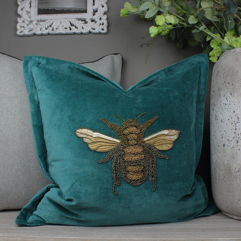 Layla Teal Voyage Maison Cushion