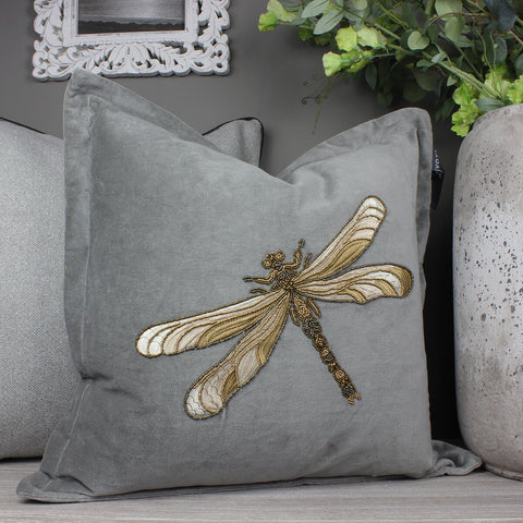 Aria Grey Voyage Maison Cushion