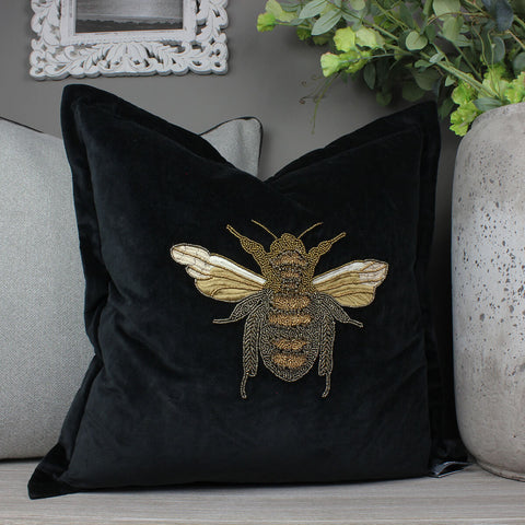 Layla Black Voyage Maison Cushion