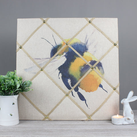 Bessy The Bee Fabric Memo Notice Board