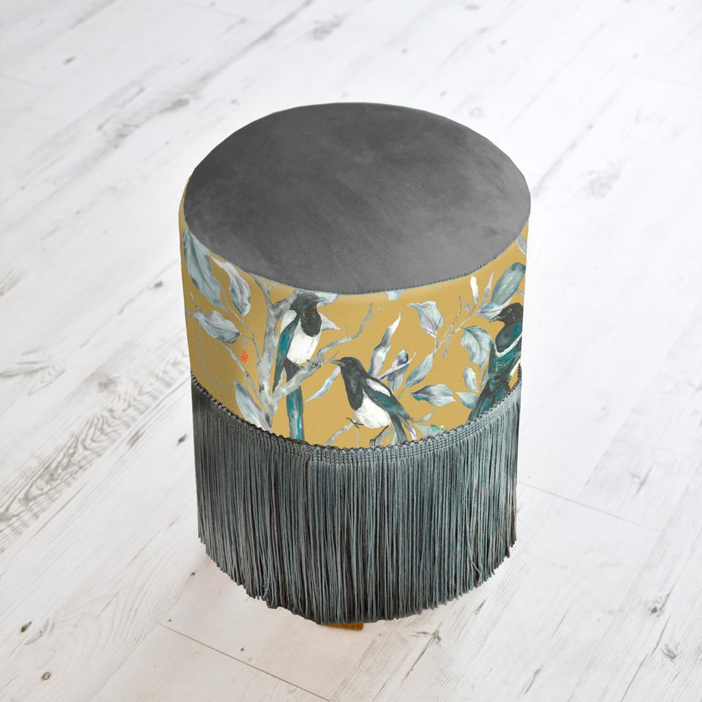 Collector Gold Monty Stool Voyage Maison Foot Stool