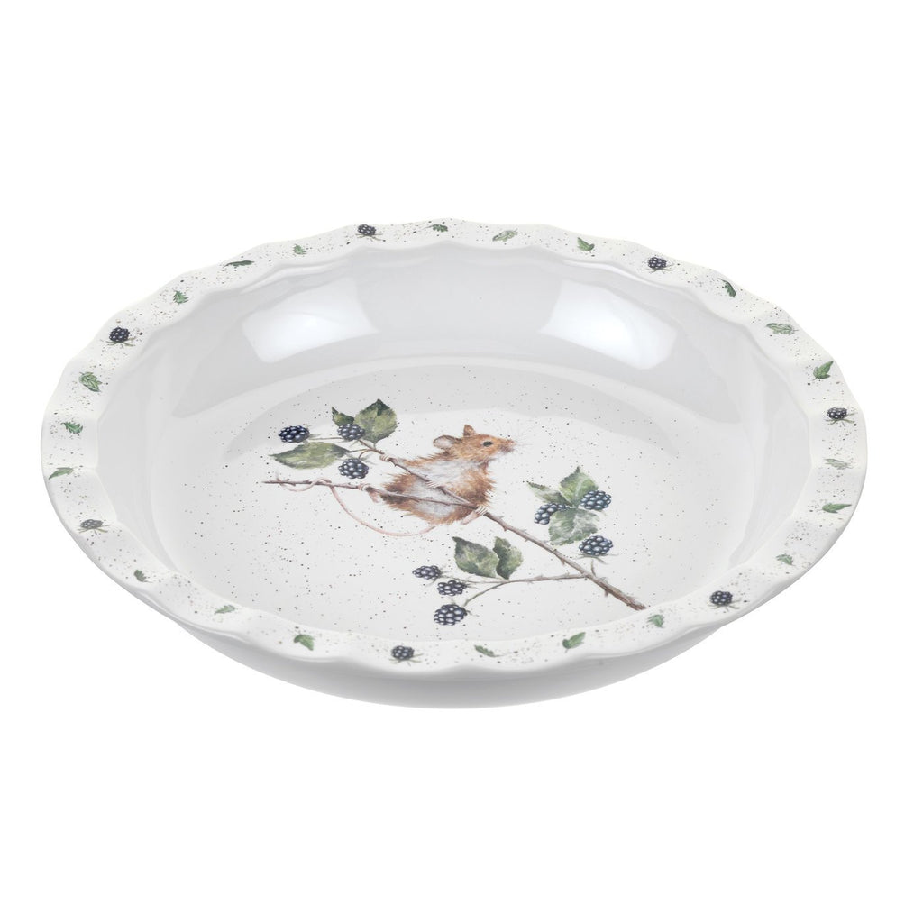 "Country Mouse Pie Dish 10"" - Wrendale Designs"