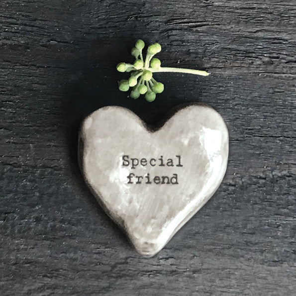 East Of India Special Friend Heart Token