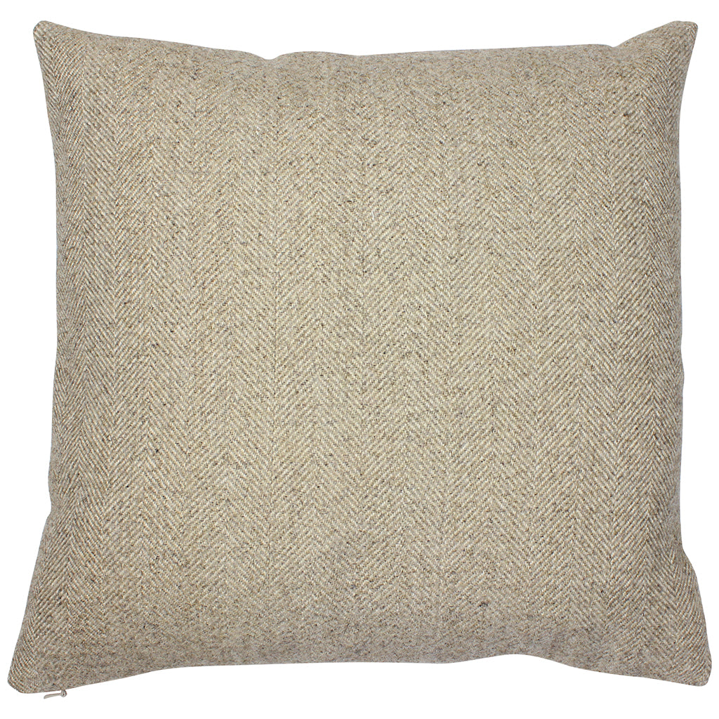 Stone Carnegie Herringbone Cushion Cover