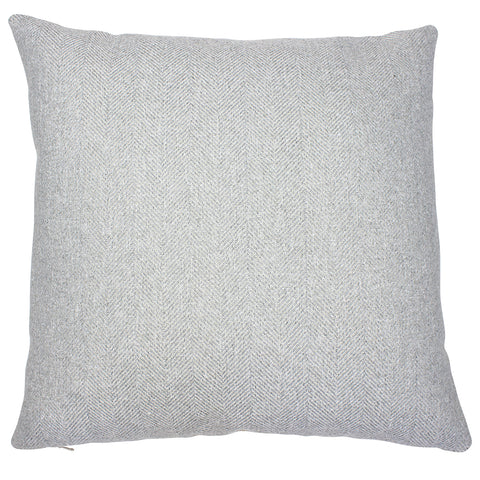 Dove Grey Carnegie Herringbone Cushion Cover