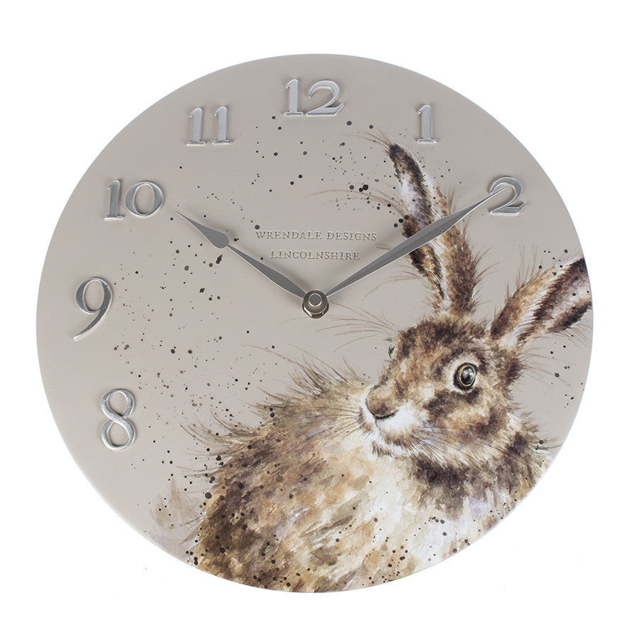 Hare Wall Clock - Wrendale Designs