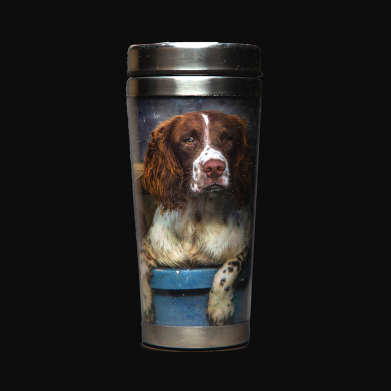 Spaniel Dog in Landy Thermal Mug