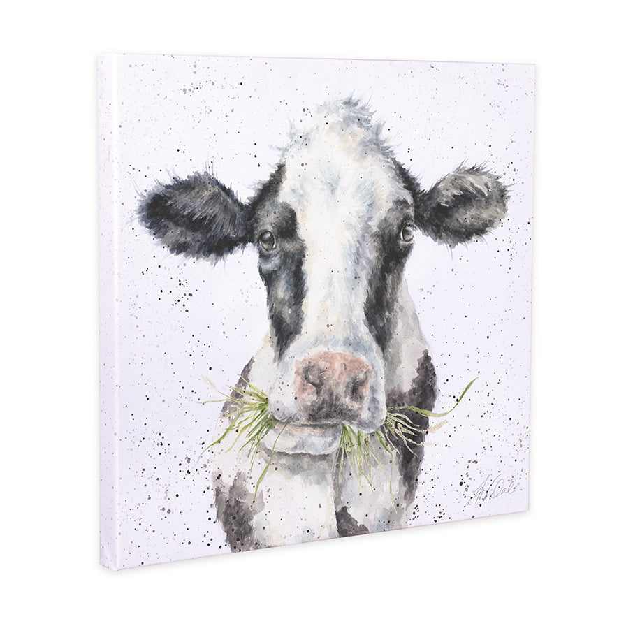 Wrendale Cow Canvas Milk Maid
