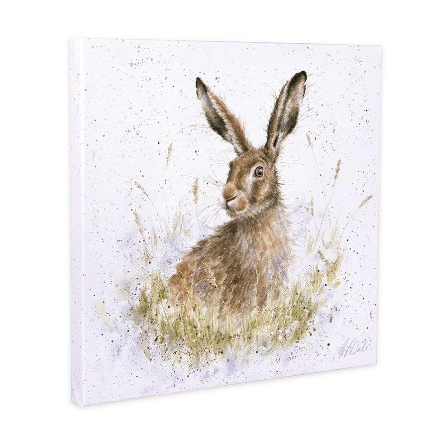 Wrendale Hare Canvas Into the Wild