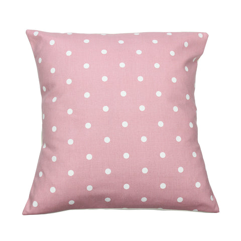 Rose Dotty Spot Cushion Cover