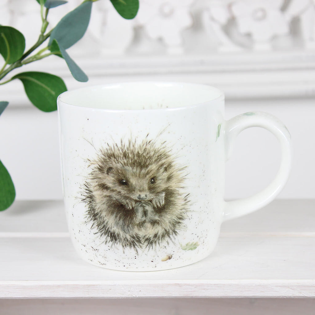 Awakening Hedgehog Mug - Wrendale Designs