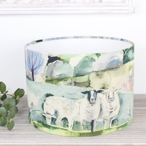 Buttermere Sage Sheep Voyage Maison Lampshade