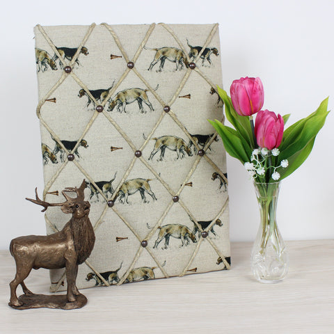Hounds & Horn Memo Board