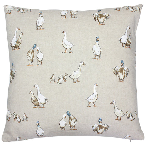 Shabby Ducks Cushion Cover