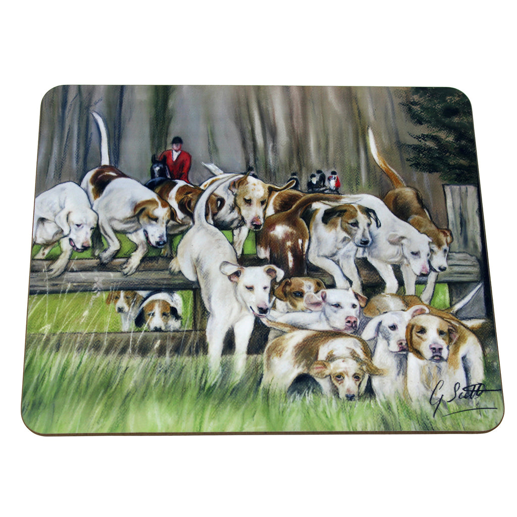 Hounds Hunting Placemat