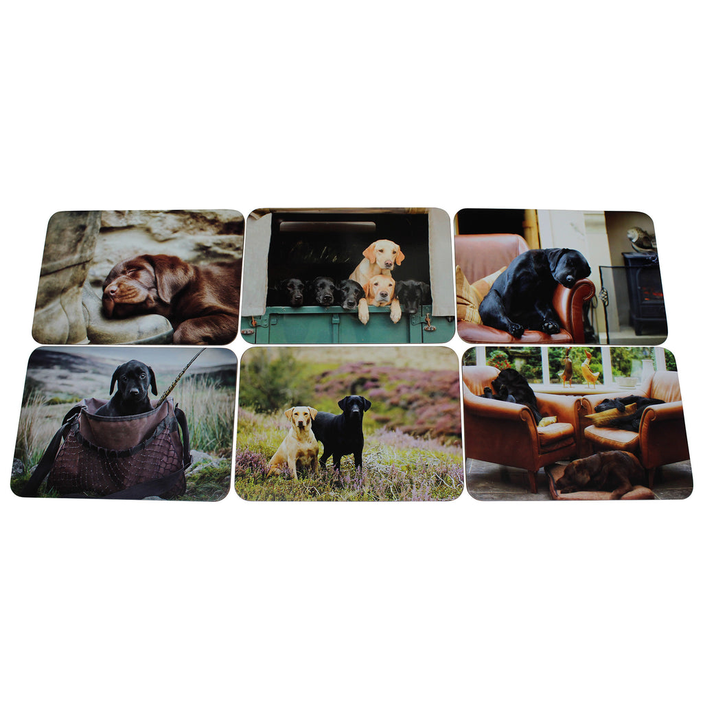 Labrador Placemats Set of Six
