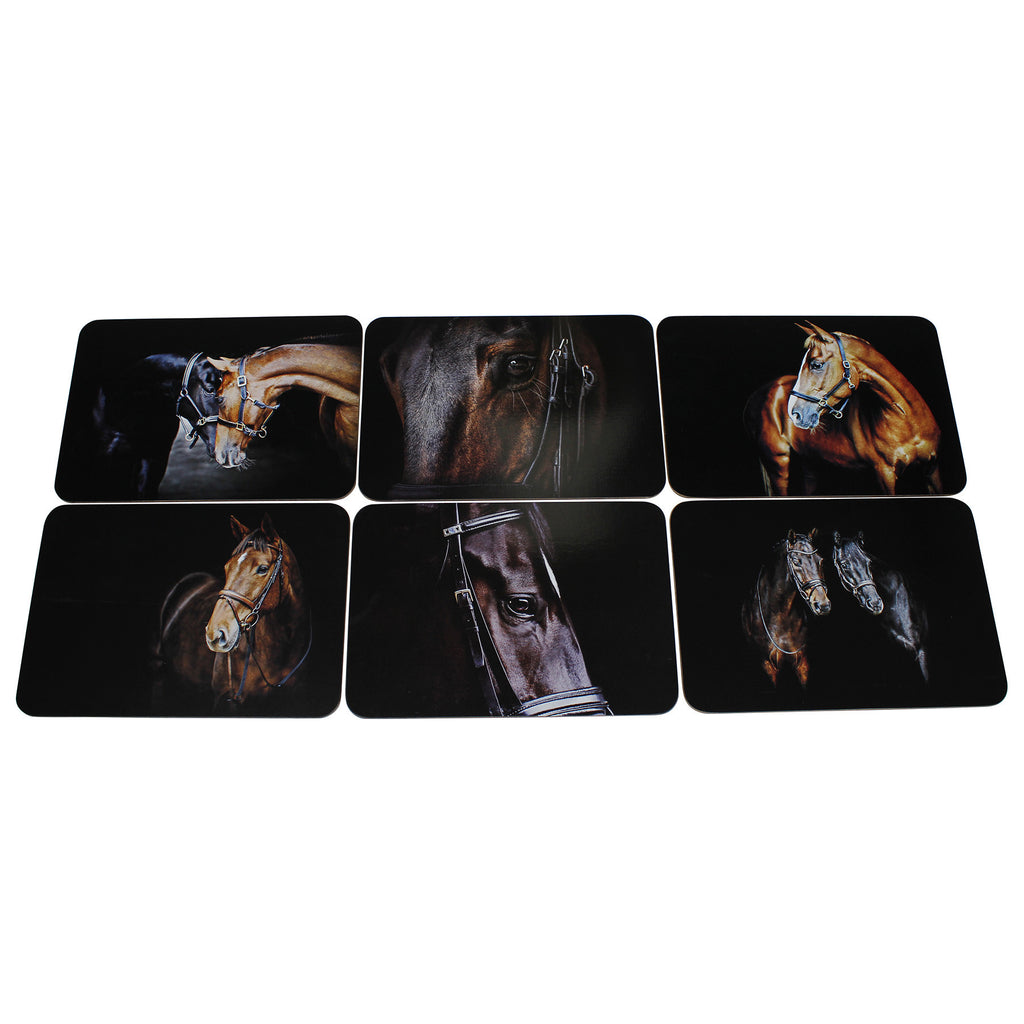 Horse Placemats Set of Six