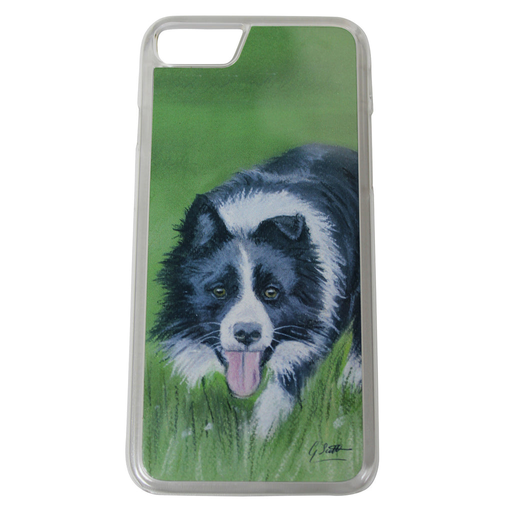 Collie In the Field Phone Case