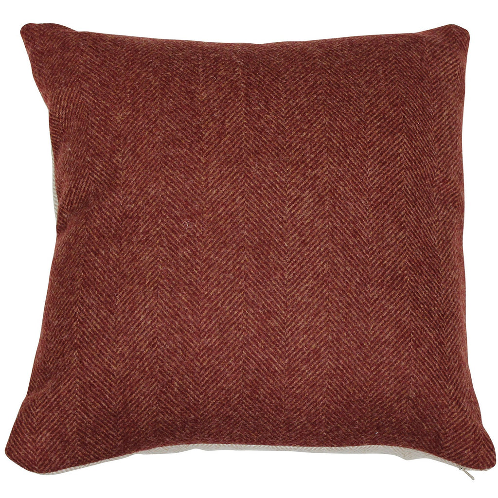 Glamis Mandarin Tweed Wool Cushion