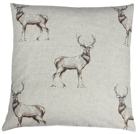Glencoe Stag Animal Cushion Cover