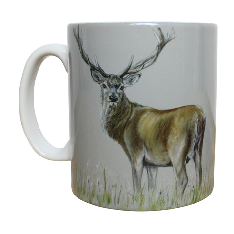 Stag in the Grass Mug