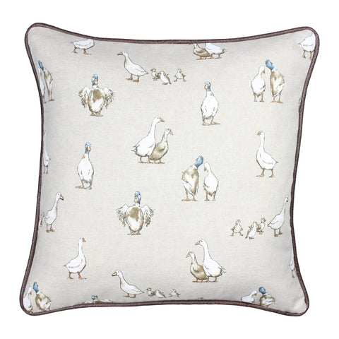 Duck and Duckling Country Animal Cushion